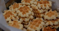 """As previously mentioned, these waffle cookies are a family tradition . My grandfather (whom we called """"Bampa"""" because the first grandchild..."""