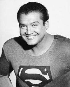 George Reeves (1914 - 1959) as Clark Kent on TV Series --- Superman 1952 - 1958