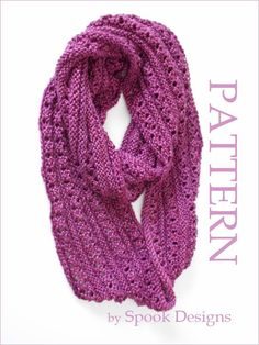 Your place to buy and sell all things handmade Knitting Socks, Hand Knitting, Crochet Scarves, Knit Crochet, Infinity Scarf Knitting Pattern, 4 Ply Yarn, Cast Off, Knit In The Round, Circular Needles