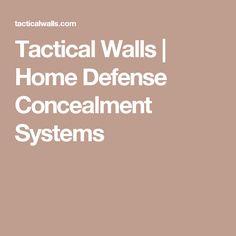 Tactical Walls | Home Defense Concealment Systems