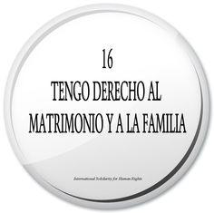16. tengo derecho al matrimonio y a la familia