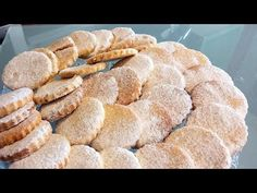 Mantecaditos, Bread, Yema, Youtube, Food, Crack Crackers, Cookie Recipes, Desserts, Homemade