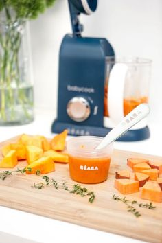 Butternut Squash, Carrot and Thyme Baby Food Purée