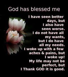 God bless!