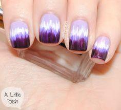 Facil / Easy nails (*´▽`*)