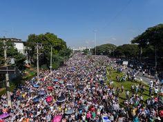 VISÃO NEWS GOSPEL: Sem dados da PM, organizadores anunciam que Marcha Para Jesus reuniu 3 milhões de fiéis em SP