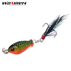 1Pcs Small Minnow 3.2cm 6gMetal Fishing Crankbait Lure 3d Eyes...