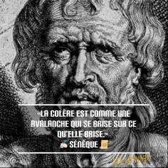 «La colère est comme une avalanche qui se brise sur ce qu'elle brise.» ✍ Sénèque