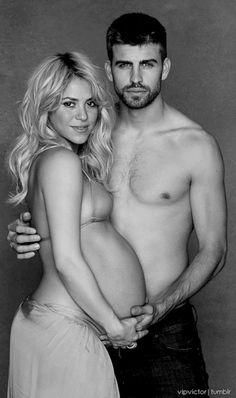 Shakira and Gerard...