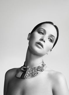 Jennifer Lawrence Is Picture Perfect In New Miss Dior Campaign photographed by Willy Vanderperre.