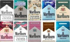 Grafika przez We Heart It #cigarette #cigarettes #death #die #marlboro #quote #smoke #smokes