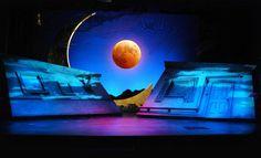 A MIDSUMMER NIGHT'S DREAM - SET DESIGN by Kim A. Tolman, via Behance