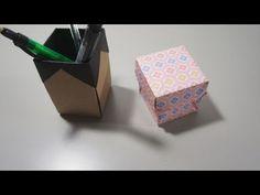 折り紙でペン立て ( その他芸術、アート ) - ORIKO's origami world - Yahoo!ブログ