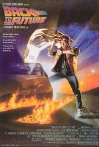 Back to the Future is a 1985 American science-fiction adventure film. It is directed by Robert Zemeckis, written by Zemeckis and Bob Gale, produced by Steven Spielberg, and stars Michael J. Fox, Christopher Lloyd, Lea Thompson, Crispin Glover and Thomas F. Wilson. The film tells the story of Marty McFly, a teenager who is accidentally sent back in time from 1985 to 1955.