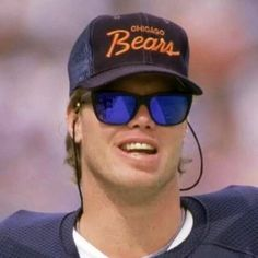 Quarterback Jim McMahon of the 1985 Chicago Bears is awesome. Here are 9 reasons why Jim McMahon of the 1985 Bears is awesome. Bears Football, Football Baby, Football Players, Super Bowl Shuffle, 1985 Chicago Bears, Jim Mcmahon, Nfc North, First Football