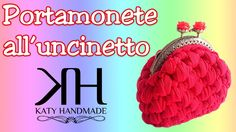 ❀ [Tutorial #5] Portamonete all'uncinetto || Crochet coin purse ❀