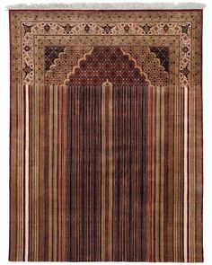 Playing with Tradition, a hand knotted wool carpet design by Richard Hutten.