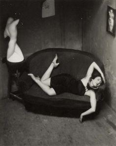 André Kertész, Satiric Dancer, Paris , 1926.