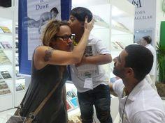 O Rafa, filho de Nadur, também participou do evento.