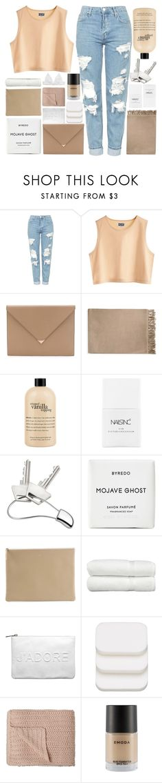 """""""NO ONE CAN HOLD ME BACK"""" by expresng ❤ liked on Polyvore featuring Topshop, MTWTFSS Weekday, Alexander Wang, Fall Winter Spring Summer, philosophy, Nails Inc., Georg Jensen, Byredo, Arts & Science and Linum Home Textiles"""