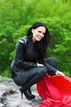 Tarja Soile Susanna Turunen-Cabuli (1977), generally known as Tarja Turunen, is a Finnish singer-songwriter. She is a soprano and has a vocal range of three octaves, is a Finnish singer-songwriter. She is a soprano and has a vocal range of three octaves. She studied singing at Sibelius Academy and Hochschule für Musik Karlsruhe. She is well known as a professional classical lied singer but best known as the former lead vocalist of the Finnish symphonic band Nightwish in 1996.