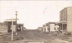 RP: Main Street (dirt) , BUCHANAN , Saskatchewan , Canada , PU-1912