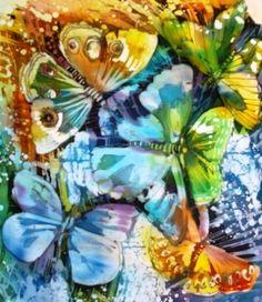 Антипова Елена. Бабочки