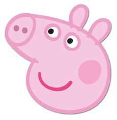 What is the use of an peppa pig mask? 3 Use the peppa pig mask only for the. Pig Face Paint, Peppa Pig Mask, Pippa Pig, Peppa Pig Party Supplies, Cumple Peppa Pig, Pig Character, Pig Crafts, Josi, George Pig
