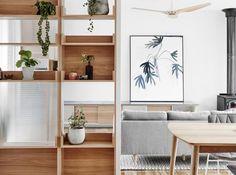Caulfield South Residence living room by Doherty Design Studio. Photographer: Tom Blachford.