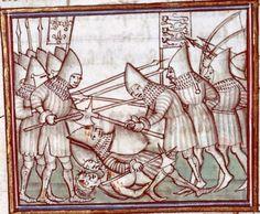 Manuscript: Besançon BM MS.677 Fleurs des chroniques Dating: 1384-1400 From: Paris, France