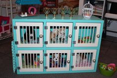 Karen Mom of Three's Craft Blog: Brandy's Easter Vet Center Play Set