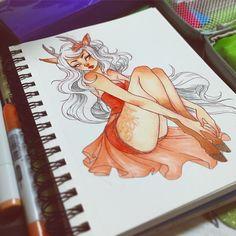 #sketchbook #sketch #artistsoninstagram #art #copic #illustration