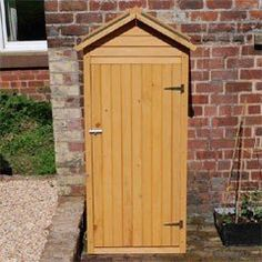 Buy Wooden Apex Small Shed 26x62 at Guaranteed Cheapest Prices with Rapid Delivery available now at Greenfingers.com, the UK's #1 Online Garden Centre.