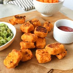 Sweet Potato Tater Tots With Homemade Ketchup & Guacamole! - Food Babe