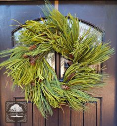 Hey, I found this really awesome Etsy listing at https://www.etsy.com/listing/221601777/year-round-wreath-pinecone-wreath-winter