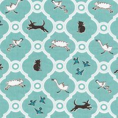 1 yardMenagerie Maman 100 percent cotton by freshsqueezedfabrics, $16.50