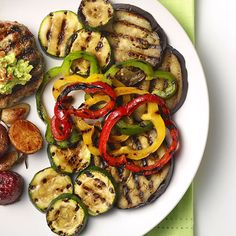 Find more healthy and delicious diabetes-friendly recipes like Grilled Vegetables on Diabetes Forecast®, the Healthy Living Magazine. Food Dishes, Main Dishes, Side Dishes, Ww Recipes, Diabetic Recipes, Grilled Vegetables, Veggies, American Diabetes Association, Healthy Living Magazine