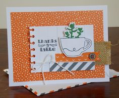 Laura's Works of Heart: THANKS A LATTE JULY PAPER PUMPKIN: