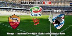 Prediksi Bola Roma vs Sampdoria 11 September 2016