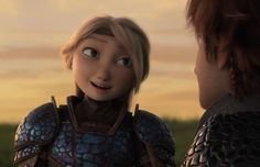 awe Astrid looks so cute here Hiccup And Toothless, Hiccup And Astrid, Httyd 3, How To Train Dragon, How To Train Your, Dragon Defender, Childhood Movies, Dragon Rider, Cartoon Movies