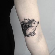 Hedgehog Tattoo by Elizabeth Markov