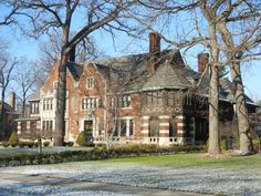 The Charles Fisher Mansion in Detroit, who founded Fisher Body, once the largest producer of automobile bodies in the world; the company was later sold to General Motors Corporation.