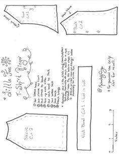 LittleFee Girl Ringer T-Shirt pattern | Flickr - Photo Sharing!