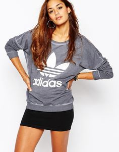 adidas+PE+Sweatshirt+With+Washed+Detail