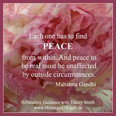 Reflexiones: peace