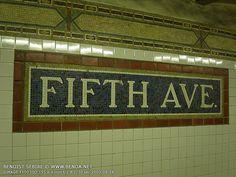 5th Ave. New York subway