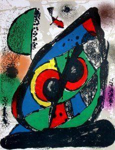 Litografía Joan Miro - Original Lithograph I (1981)