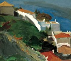 born is a Greek painter. Tetsis is a genuine exponent of the post-impressionistic seascape tradition. Painter Artist, Artist Painting, Figure Painting, Artist Art, Greek Paintings, Seascape Paintings, Landscape Paintings, Happy Paintings, Watercolor Paintings