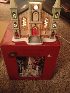 St Nicholas Square Village Cathedral | eBay- this is gorgeous