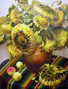 Victor Nizovtsev Victor Nizovtsev, Still Life 2, Mellow Yellow, Botanical Art, Illustration Art, Illustrations, Fairy Tales, Whimsical, Nature